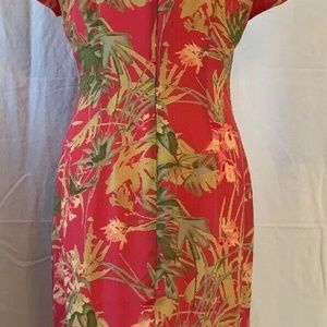 David Warren Dresses - David Warren Dress Size 12 Modest  SS Qipao Inspir